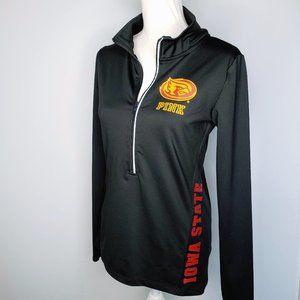 Pink VS Iowa State Black Pullover Jacket M